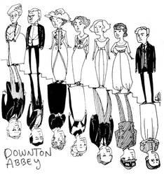 Downton Abbey by cesca-specs
