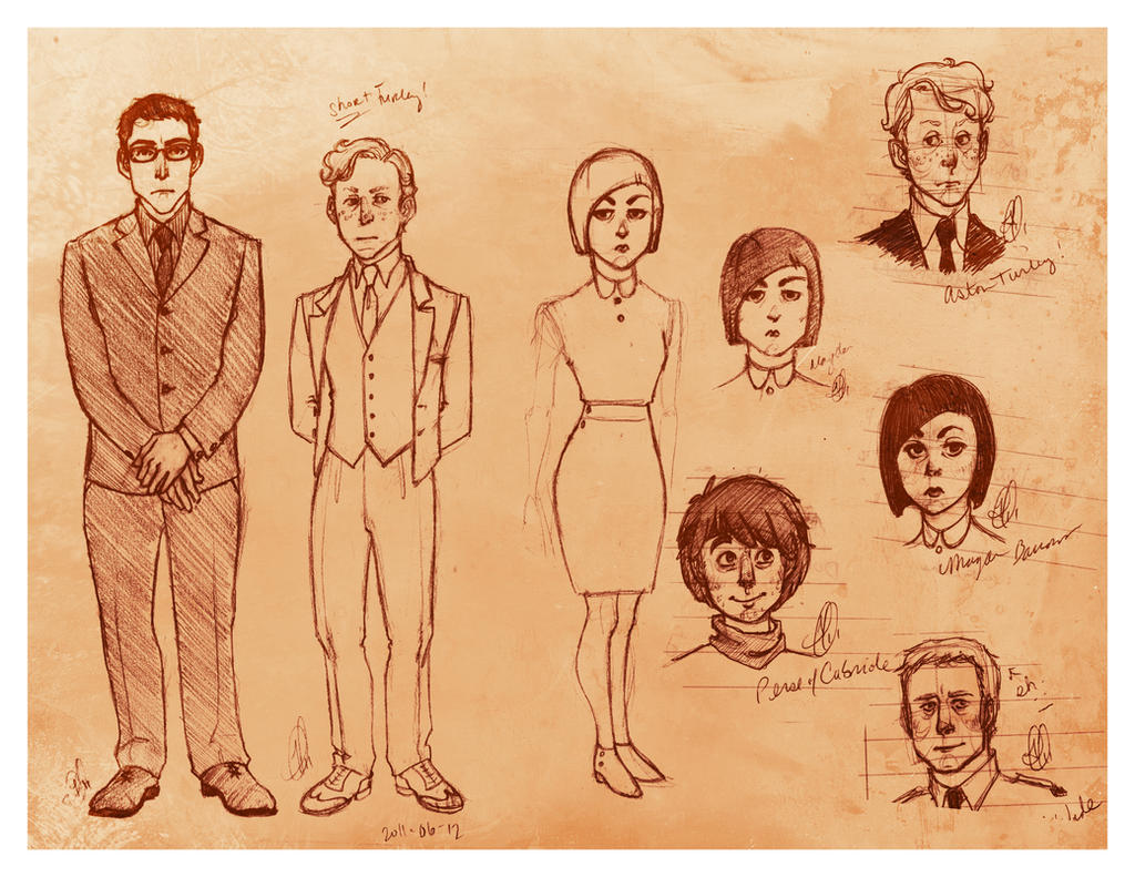character designs by cesca-specs