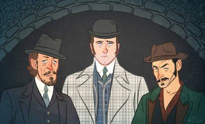 Ripper Street: Trio by cesca-specs