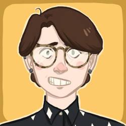 self portrait icon by cesca-specs