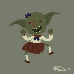 Sailor Goblin by cesca-specs