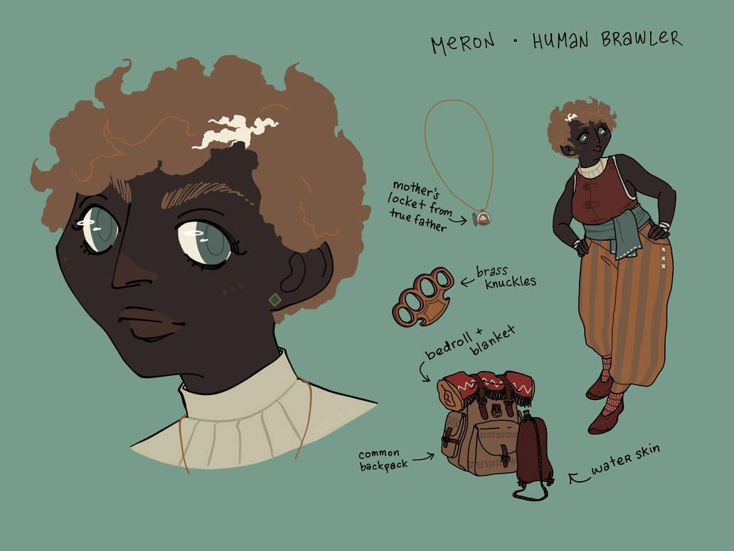 Meron - human brawler by cesca-specs