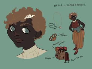 Meron - human brawler
