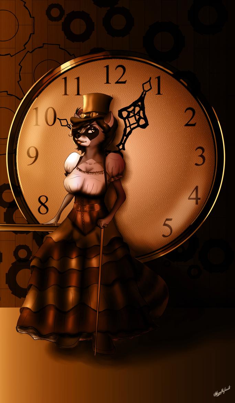 Steampunk Rac Anthro Challenge 137 by noveltybest
