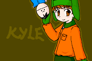 Kyle and Ike by LazyOrca