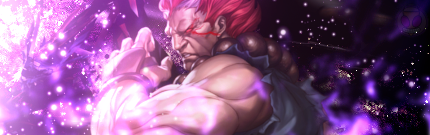 Street Fighter Akuma Signature by Demensional