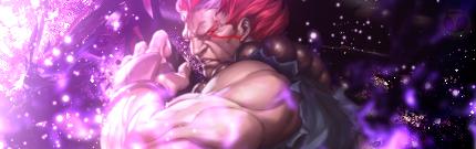 Street Fighter Akuma Signature by Demensional
