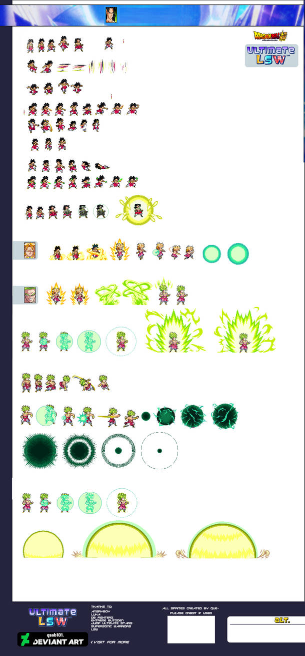 Broly Ulsw Full Sheet By Xenozaiko On Deviantart