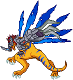MetalGreymon X!!! by AmazonianFisherman