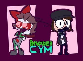 Invader CYM (gift)