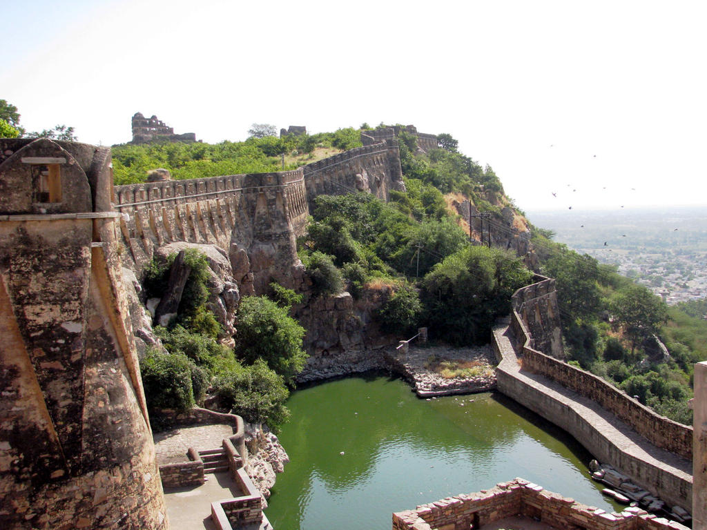 Chittorgarh Birla Cement Works : Chittorgarh fort by sidthebohemian on deviantart