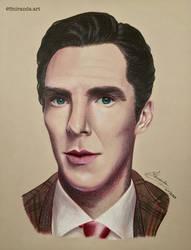 Benedict Cumberbatch by Miranda022