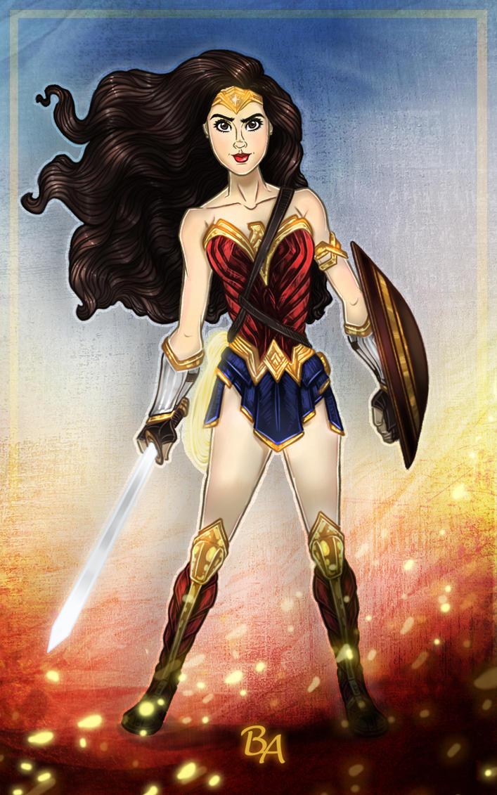 Wonder Woman by BrunoArauto09