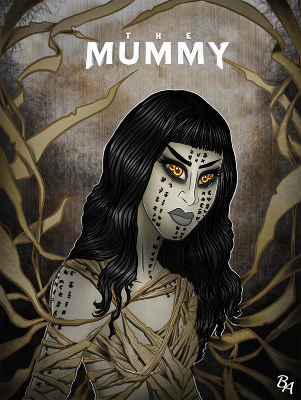 The Mummy by BrunoArauto09