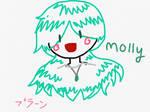 Molly Crayon style