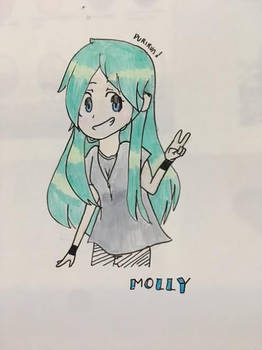 Molly (GIFT) made for my senpai