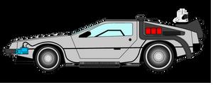 DeLorean DMC-12 Time Machine II - 2015 Mod