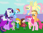 Friends Can Change the World (Mane 8, I guess) by 04StartyCornOnline88