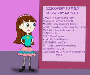 Blythe looking the Discovery Familiar Calendar by 04StartyCornOnline88