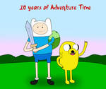 10 Years of Adventure Time