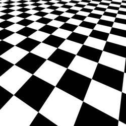 Checkered vector by publicdomainvectors
