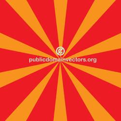 Retro beams vector background by publicdomainvectors