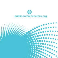 Halftone design vector public domain by publicdomainvectors
