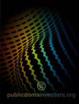 Halftone background vector graphics