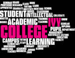 Education word cloud vector