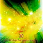 Illuminating abstract vector background