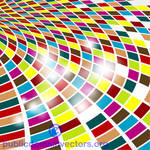 Colorful abstract vector background public domain