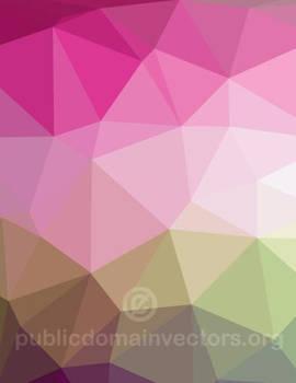 Polygonal abstract vector graphic public domain