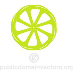 Lemon shape vector public domain