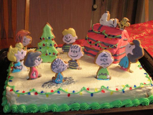 A Peanuts Christmas by DisturbedDarkAngel