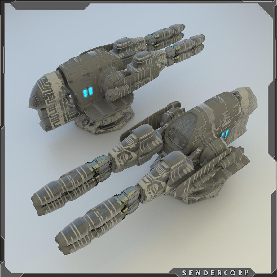 WIP Energy pulse cannon by PINARCI