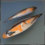 Galactic post WIP cruiser / cargo vessel