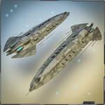 Heavy Battle Cruiser / Big Gunship