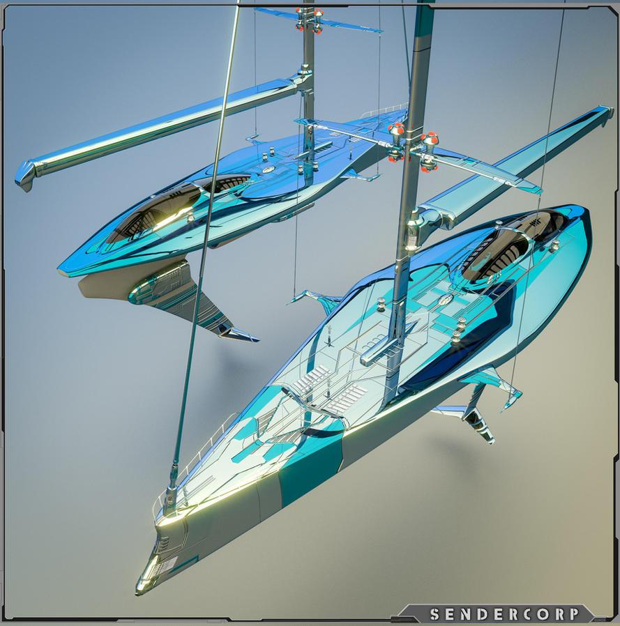 NEPTUNE R005 Starship / Yacht
