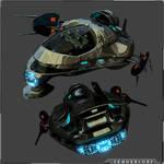 SC GX Class Recon Ship by