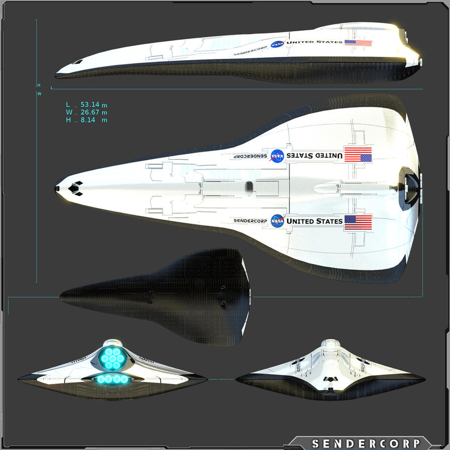 Concept Advance Shuttle by PINARCI on DeviantArt
