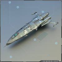 Elite Force Dropship / SC 009 Corvette Class by PINARCI