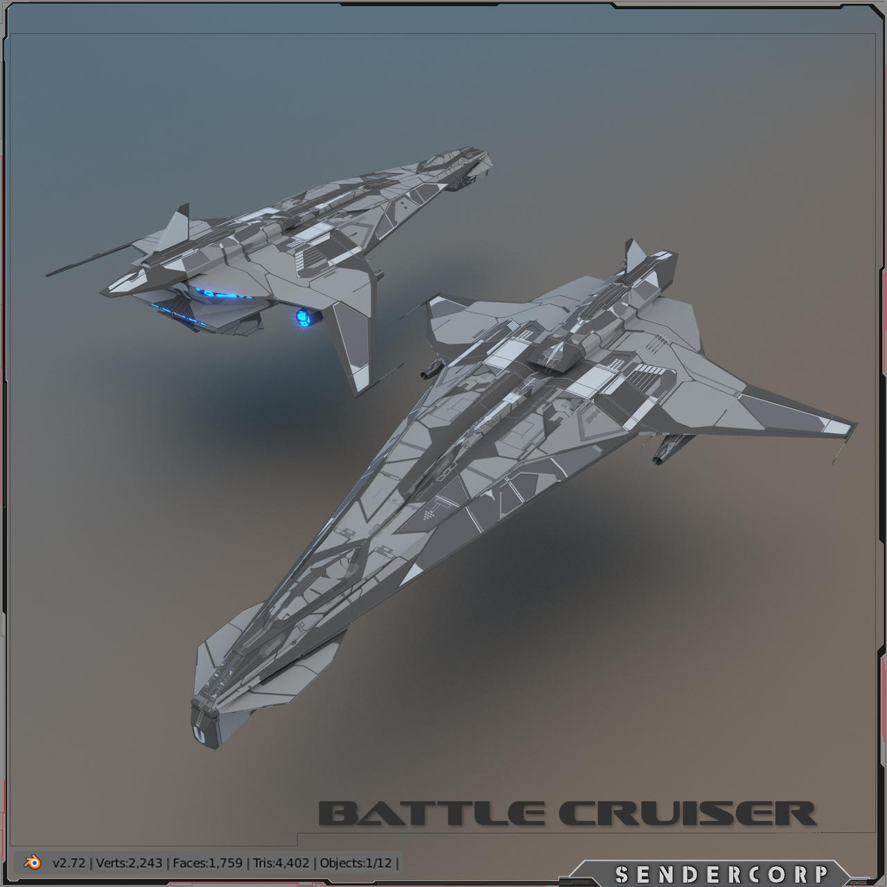 LOWPOLY Battleship by PINARCI on DeviantArt