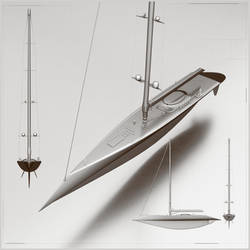 WIP Render A 82 meters Bigger boat render Y001A se
