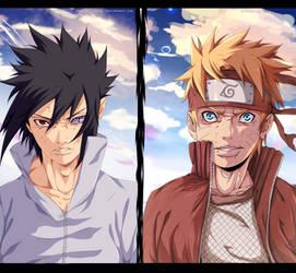 Naruto 693 - Naruke Vs Sasuto (: