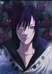 sasuke -  Sanin