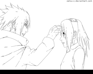 Naruto 699 Thank you. Lineart by ZeTsu-c