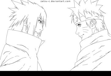 Naruto 699 - Lineart