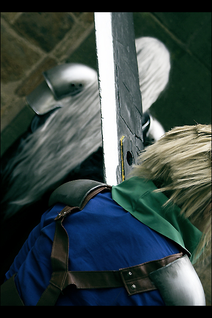Sephiroth and Cloud - enemy by Maryru
