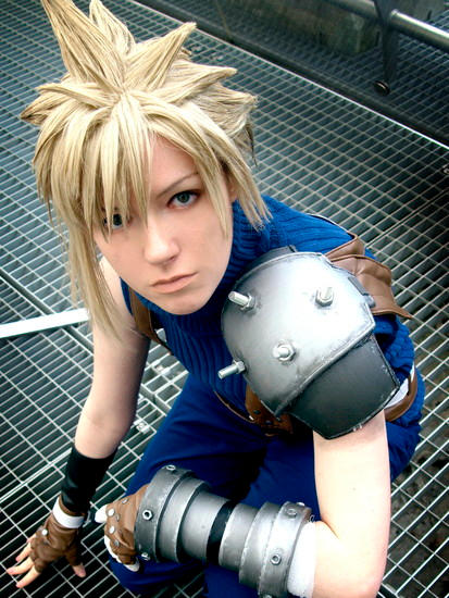 Cloud cosplay - Dissidia
