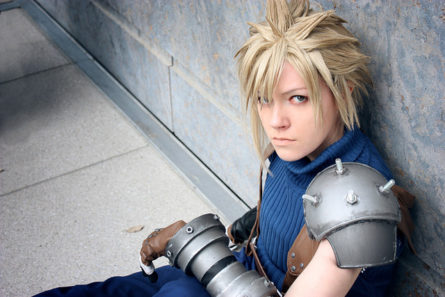 Cloud cosplay strength of mind